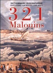 Couverture de 321 Malouins. Dictionnaire biographique