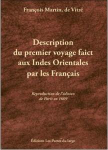 Couverture du livre Description du premier voyage fait par les Français aux Indes Orientales