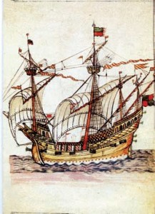 Navire breton qui a inspiré le logo des éditions Les Portes du large