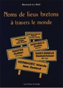Couverture du livre Noms de lieux bretons à travers le monde